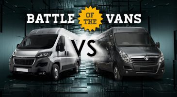 large vans battle