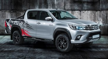 Toyota Hilux pick-up van