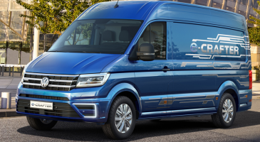 new Volkswagen Crafter electric