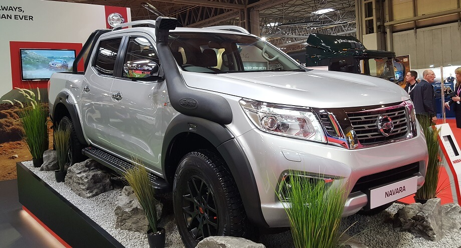 Nissan Navara off-roader