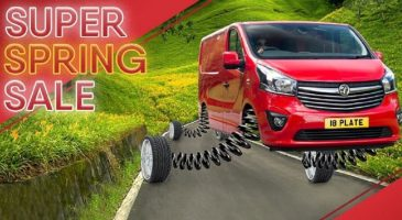 Spring Sale new van leasing
