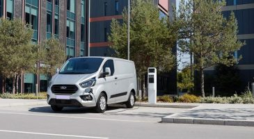 New Ford Transit Custom PHEV