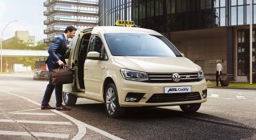 Volkswagen Caddy electric vans