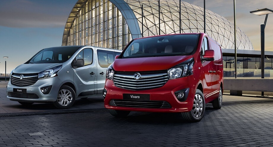Vauxhall Vivaro cheap van leasing