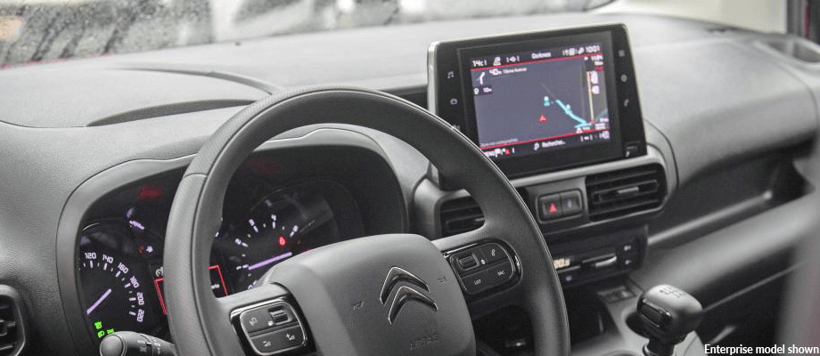 New Citroen Berlingo dashboard