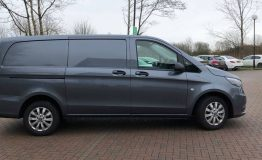 Mercedes Vito side on
