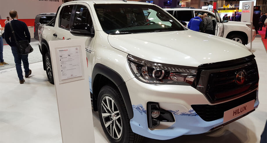 Toyota Hilux pick-ups for sale