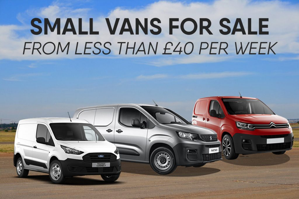 Small vans for sale